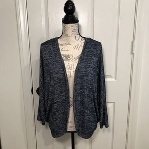 GAP Sweaters - Gap blue marled cardigan